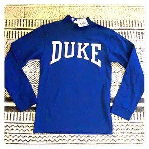Tops - NWT DUKE university mockneck sweatshirt